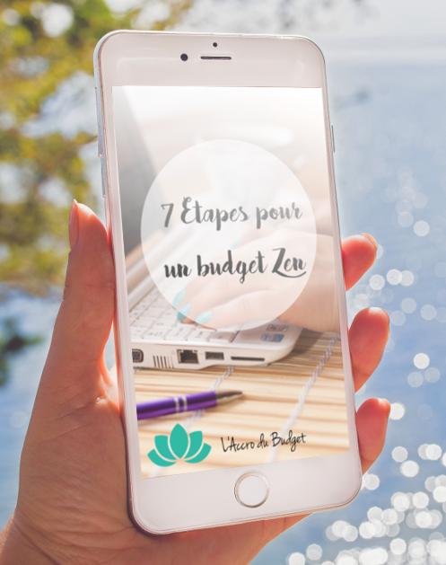 budget zen en 7 étapes