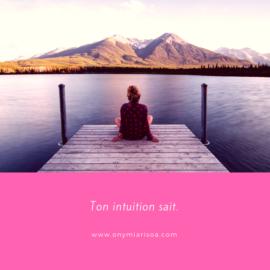 De l'importance de l'intuition